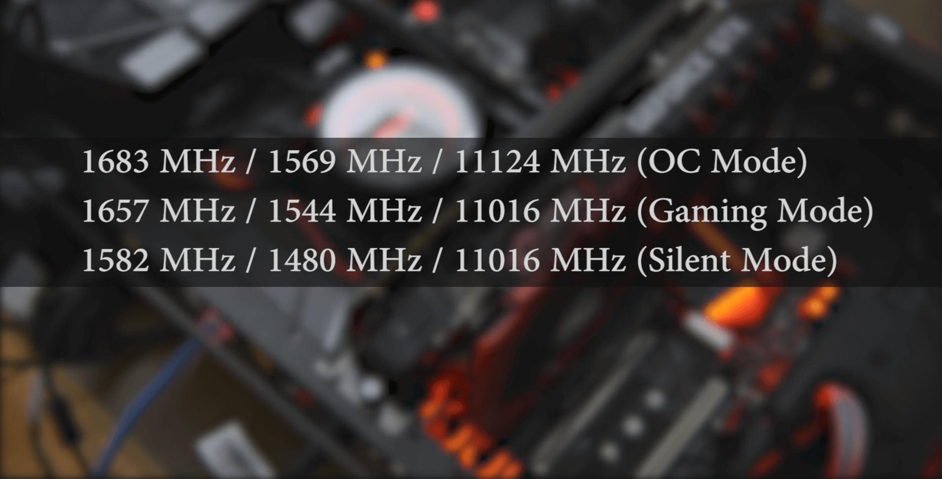 Технічні характеристики msi gtx 1080 ti gaming x