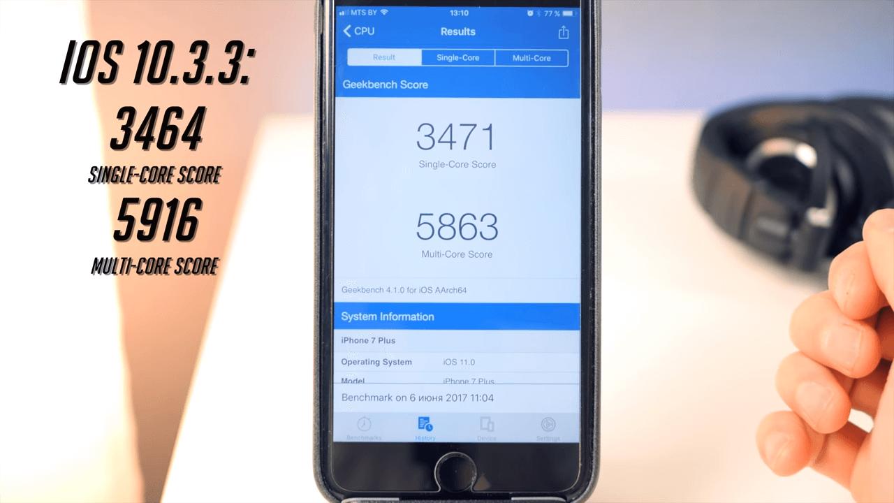 Какие iphone получат ios 11