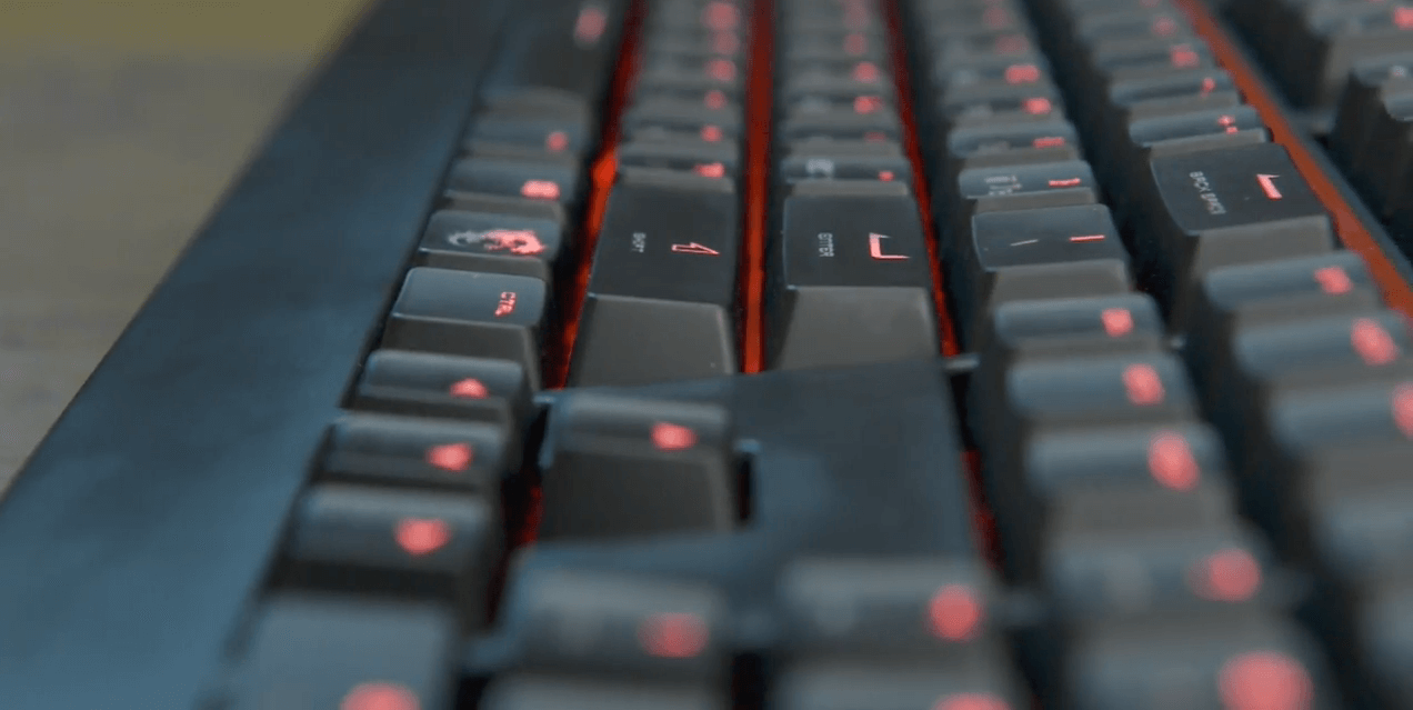 Gk 701 механическая клавиатура от msi
