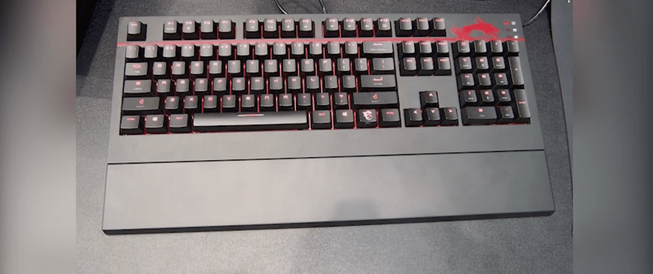 Msi gk 701 mechanical gaming keyboard