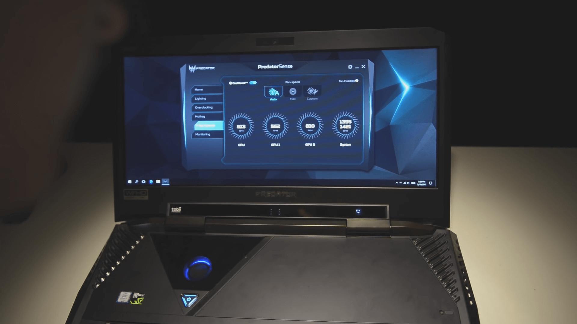 Acer predator 21 x характеристики