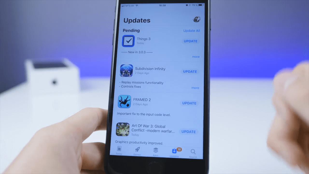 Apple выпустила ios 11 beta 2
