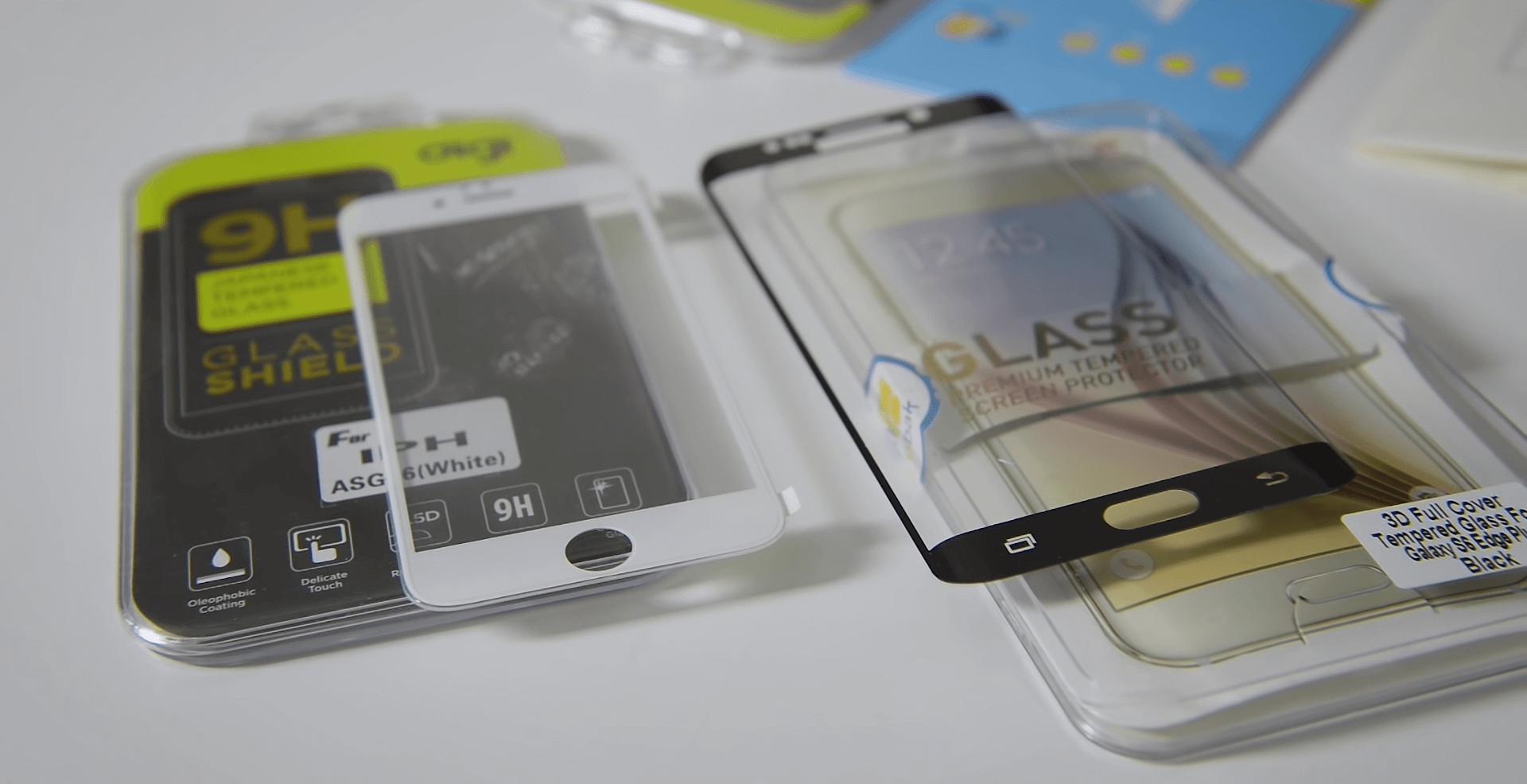 Лучшие защитные стекла для смартфонов