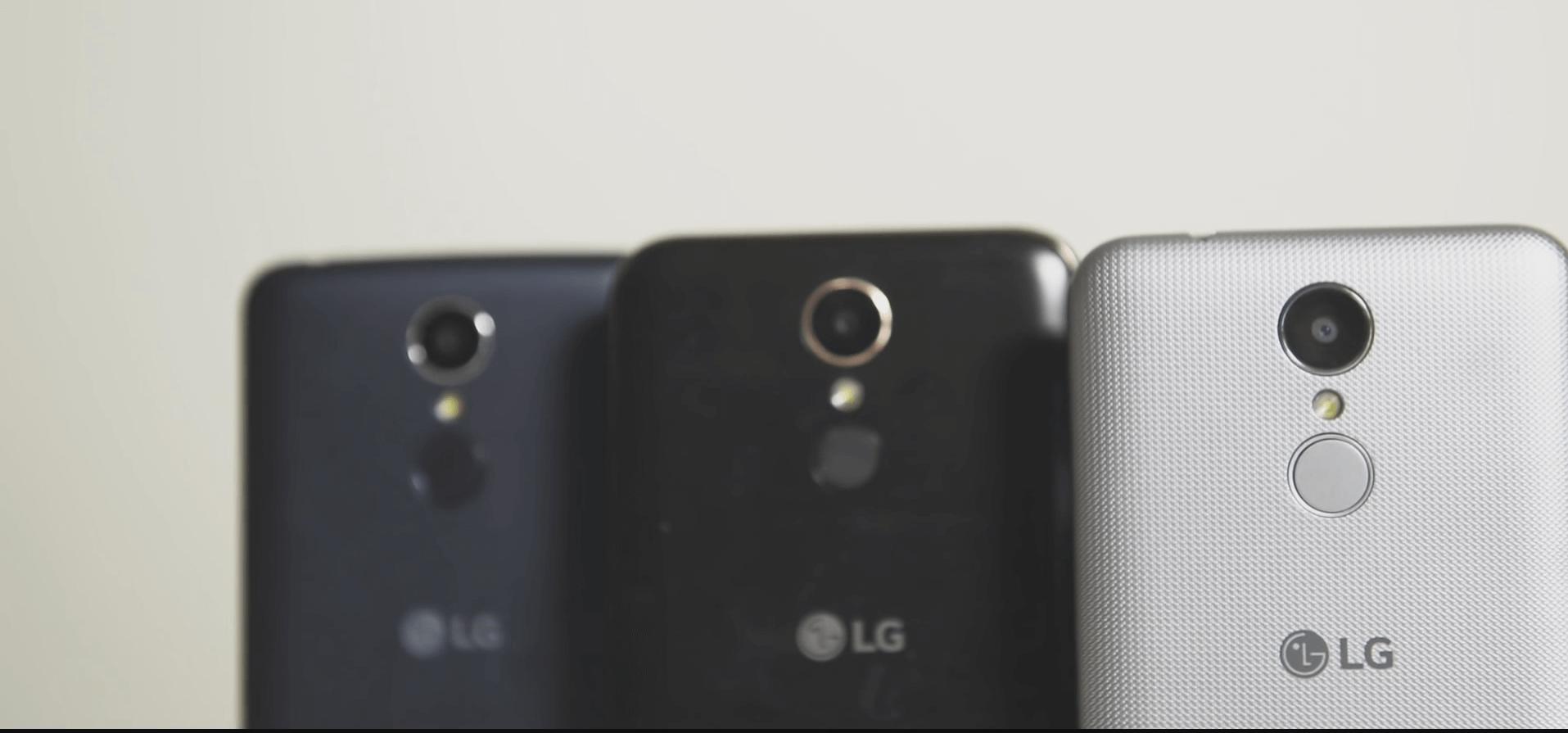 Lg k10 2017 камера