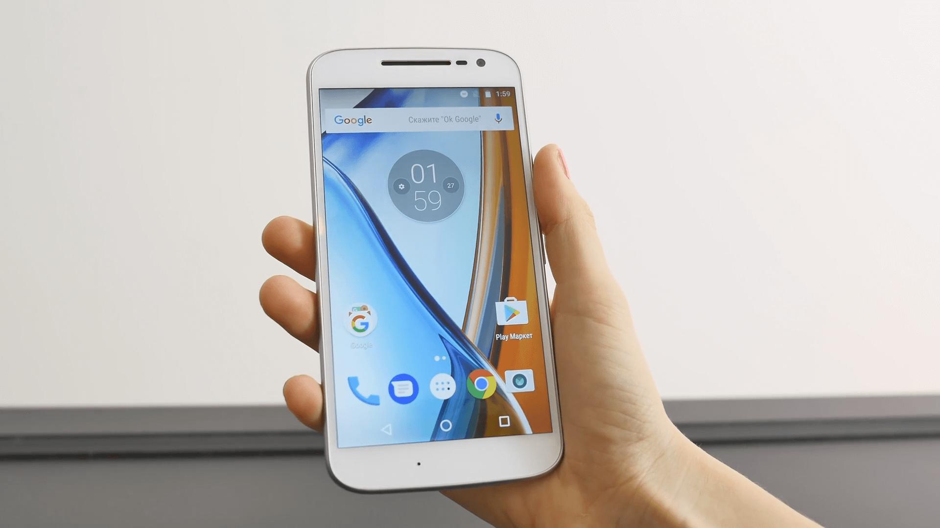 Motorola moto g4 характеристики смарфона