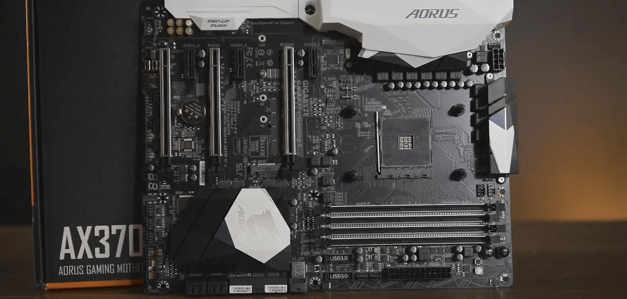 Gigabyte aorus ga ax370 gaming 5 обзор